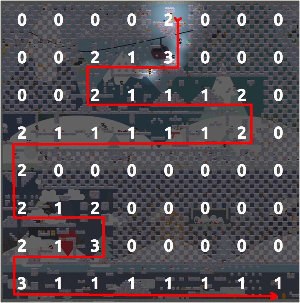 Алгоритмы интеллектуальной автогенерации уровней в iOS игре - Изображение 9